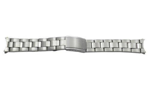 Seiko Titanium Fold-Over Clasp 20mm Watch Bracelet