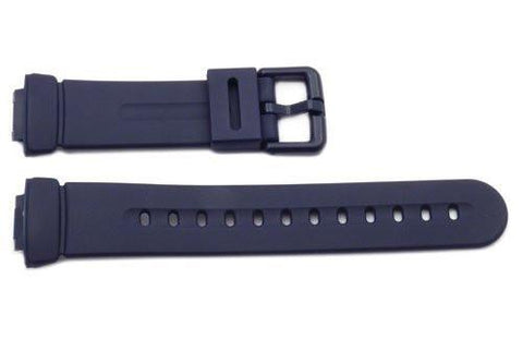 Genuine Casio Baby G-Shock Navy Blue Resin 23/14mm Watch Strap- 71606405