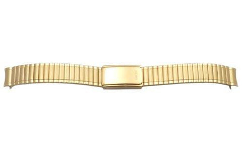 Pulsar Gold Tone Stainless Steel Expansion 10mm Watch Bracelet