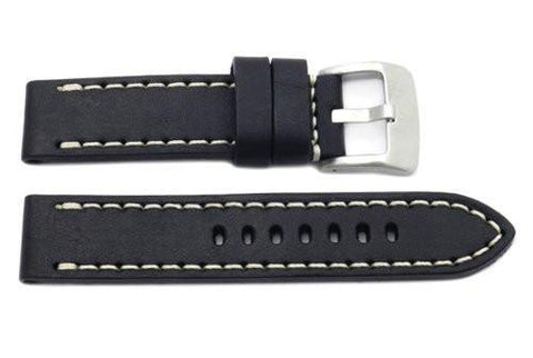 Genuine Smooth Leather Panerai Style Watch Strap