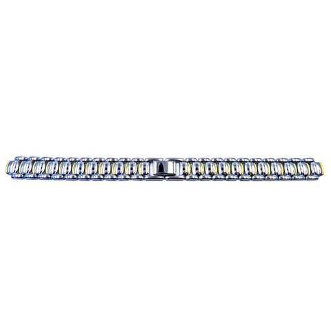 Genuine Seiko Ladies Dual Tone 12mm/7mm Replacement Watch Bracelet