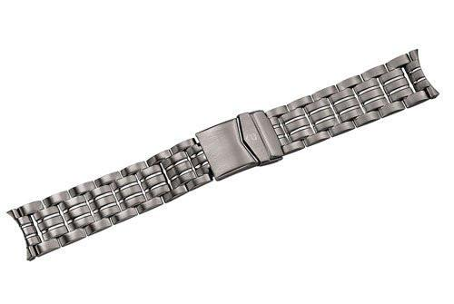Genuine Swiss Army Maverick II Large Satin Titanium Watch Bracelet