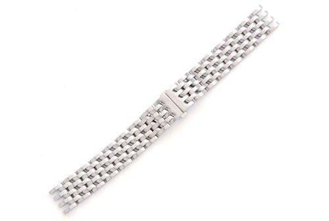 Swiss Army Silver Tone Stainless Steel Cavalry II Watch Strap