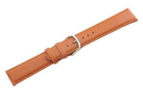 Swiss Army Centurion Series Genuine Smooth Brown Leather 20mm Watch Band