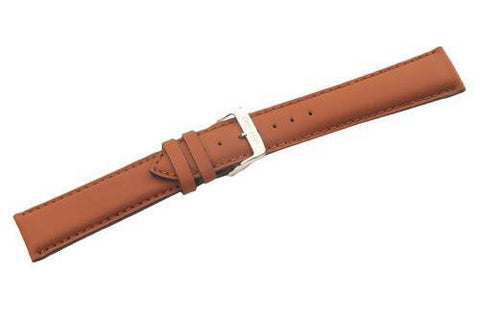 Swiss Army Centurion Series Genuine Smooth Brown Leather 20mm Watch Strap