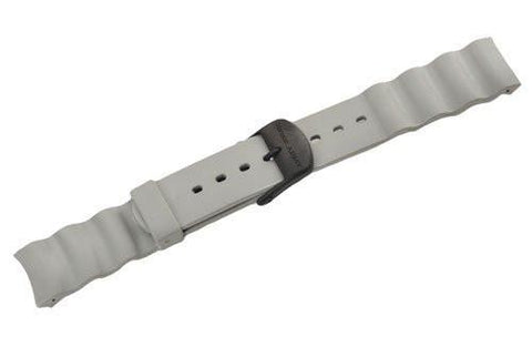 Swiss Army Odyssey Extreme Gray Rubber 20mm Watch Strap