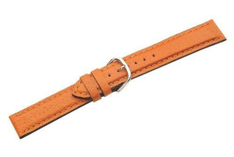Swiss Army Cavalry Brown Smooth Pig Skin Leather 19mm Watch Strap