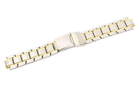 Swiss Army Dual Tone Titanium 20mm Watch Bracelet