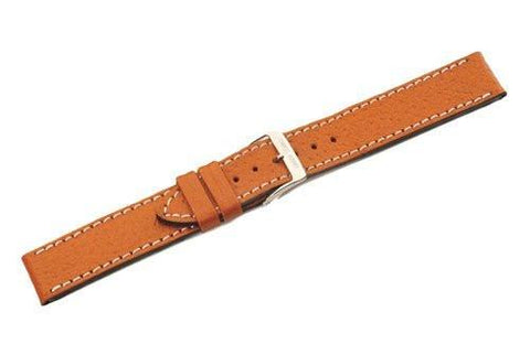 Swiss Army Delta Series Brown Smooth Leather 18mm Watch Band