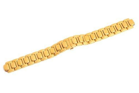 Swiss Army Valiant Series Gold Tone Stainless Steel Watch Bracelet