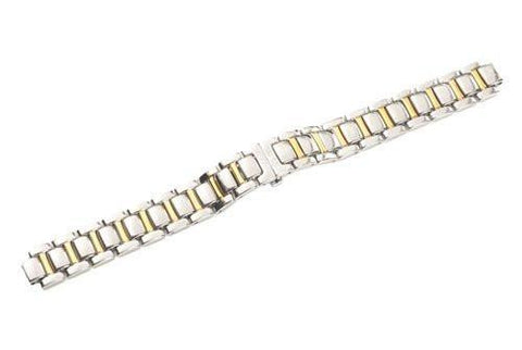 Swiss Army Valiant Series Dual Tone Stainless Steel 13mm Watch Bracelet