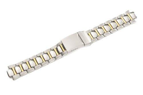 Swiss Army Valiant Series Dual Tone Stainless Steel 19mm Watch Bracelet