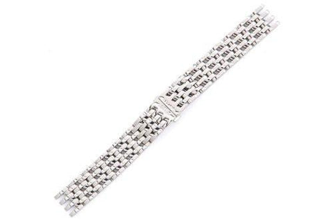 Swiss Army Cavalry II Silver Tone Stainless Steel 16mm Watch Strap
