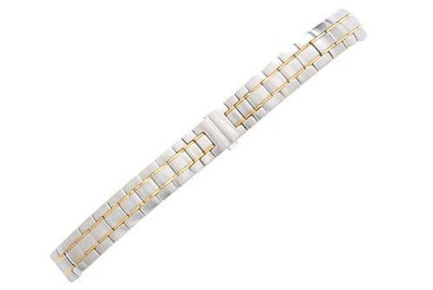 Swiss Army Officer's LS Series Dual Tone Stainless Steel 14mm Watch Bracelet