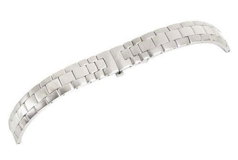 Swiss Army Officer's LS Series Silver Tone Stainless Steel 14mm Watch Bracelet