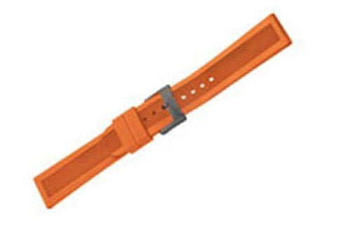 Swiss Army Dive Master 500 Orange Rubber 22mm Watch Strap