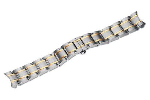 Swiss Army Alliance Chrono Dual Tone Stainless Steel 15m Watch Bracelet