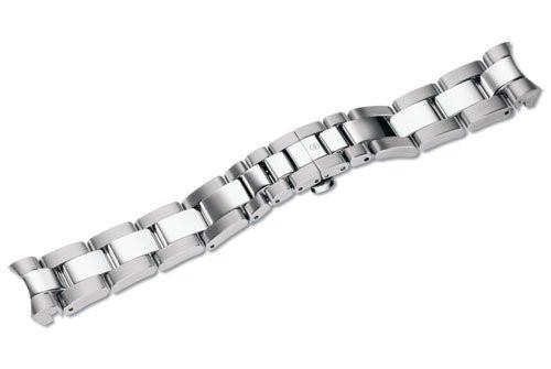 Swiss Army Alliance Sport Silver Tone Stainless Steel Watch Bracelet