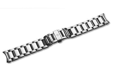 Swiss Army Alpnach Chrono Stainless Steel 21mm Watch Bracelet