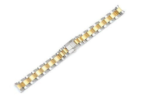 Swiss Army Vivante Dual Tone Stainless Steel 14mm Watch Bracelet