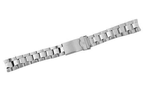 Swiss Army Officer's 1884 Silver Tone Stainless Steel Watch Bracelet