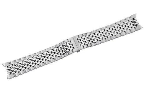 Swiss Army Ambassador Silver Tone Stainless Steel Watch Bracelet