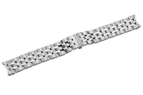 Swiss Army Alliance Silver Tone Stainless Steel 21mm Watch Bracelet