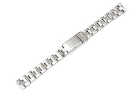 Swiss Army Officer's 1884 Silver Tone Stainless Steel 14mm Watch Bracelet