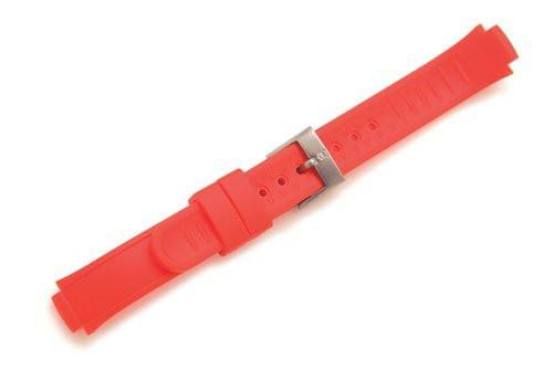 Swiss Army Base Camp Red Synthetic Silicone 10.5mm Watch Strap