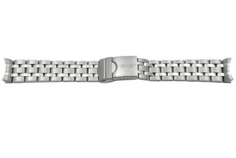 Swiss Army Chrono Silver Tone Stainless Steel 20mm Watch Bracelet - Discontinued