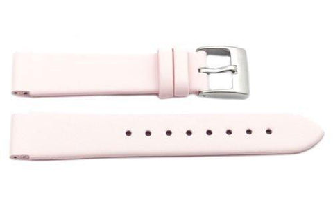 Kenneth Cole Genuine Smooth Leather Pink 16mm Watch Strap (Clearance)