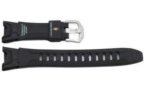 Genuine Casio Sport Black Resin 23/15mm Watch Strap