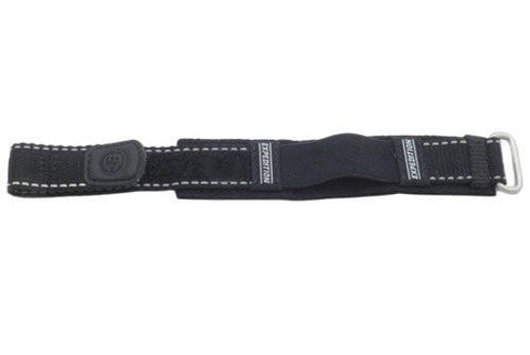 Timex Expedition Black Hook And Loop Fastener Nylon Sport Wrap 16-20mm Watch Band