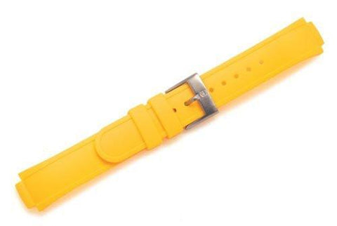 Swiss Army Base Camp Yellow Synthetic Silicone 13mm Watch Strap
