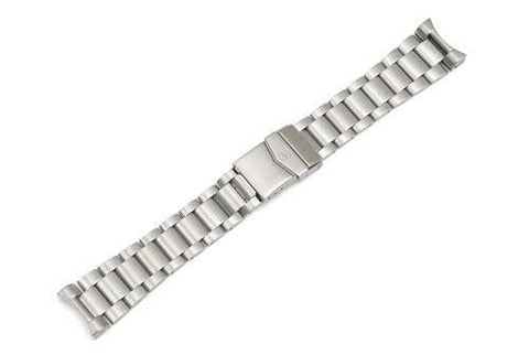Swiss Army Maverick II Silver Tone Stainless Steel Watch Bracelet