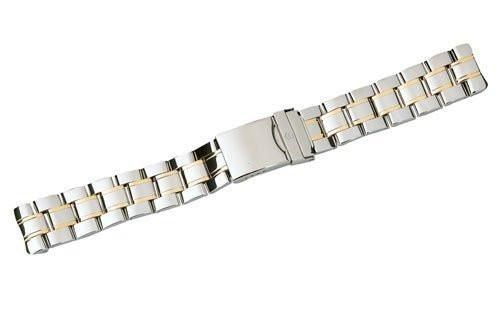 Swiss Army Officer 1884 Series Dual Tone 20mm Watch Bracelet