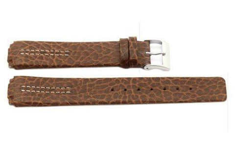 Genuine Leather Watch Strap Replacement for Skagen 433lslc, 433lgl1 - Attaches With Spring Bars