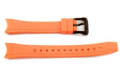 Citizen Orange Rubber Promaster Eco-Drive 16mm Watch Band