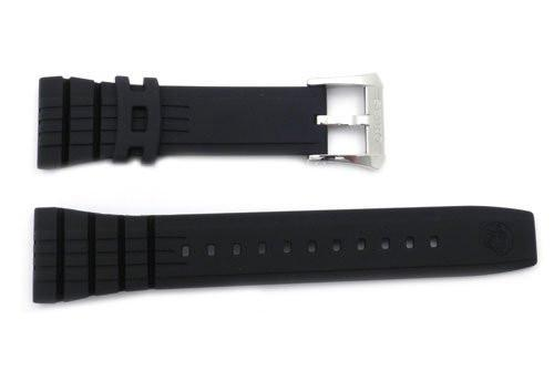 Genuine Seiko Black Rubber Diver's 26mm Watch Strap