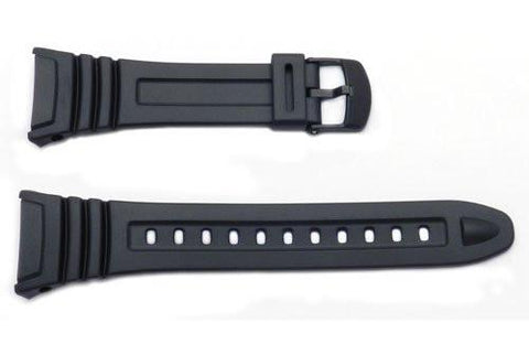 Genuine Casio Black Resin 26mm Watch Strap- 10076822