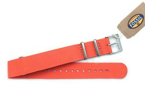 Fossil Coral Nylon 18mm Watch Strap