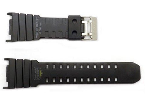 Genuine Casio Black Resin G-Shock Series 30mm Watch Band- 10264504