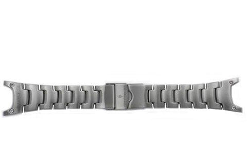 Genuine Casio Sport Silver Tone Stainless Steel 28mm Watch Band- 10262768