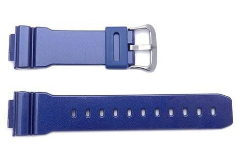 Genuine Casio Blue Resin G-Shock Watch Band- 10332042