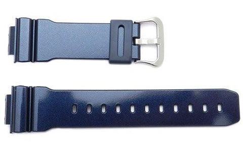 Genuine Casio Dark Blue Resin G-Shock 16mm Watch Band