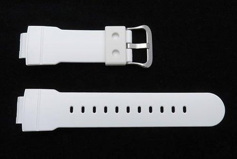 Genuine Casio G-Shock White Resin 25.5/16mm Watch Band- 10263987