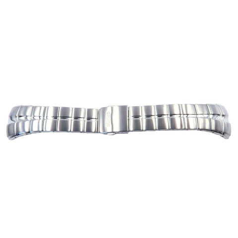 Genuine Seiko Arctura Stainless Steel Push Button Fold-Over Clasp Watch Band