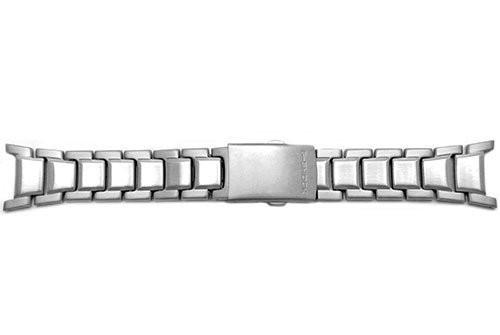 Genuine Casio Silver Tone Stainless Steel 24mm Watch Band- 10064714