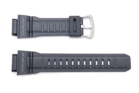 Genuine Casio G-Shock Black Resin 27/16mm Watch Strap- 10388870