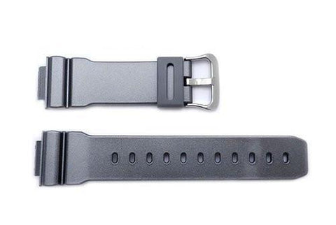Genuine Casio G-Shock Gray Glossy Resin 29/16mm Watch Strap- 10370893